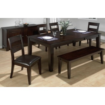 972-77 Congo Mango Rectangular Dining Group