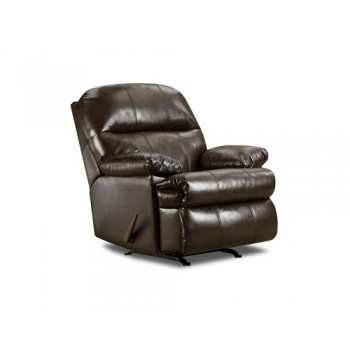 702 Spaulding Banded Leather Recliner