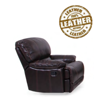 8698 Rancho Leather Power Motion Recliner
