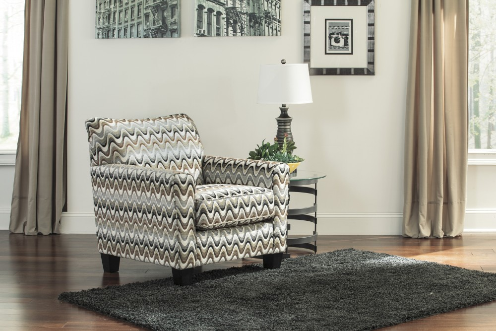 Gayler - Steel - Accent Chair