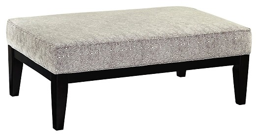 Brielyn - Linen - Oversized Accent Ottoman