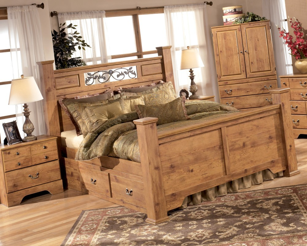 ash in sleigh brothers beveled bedroom brown beds drawers quot bed with mathis traditional inch dark furniture
