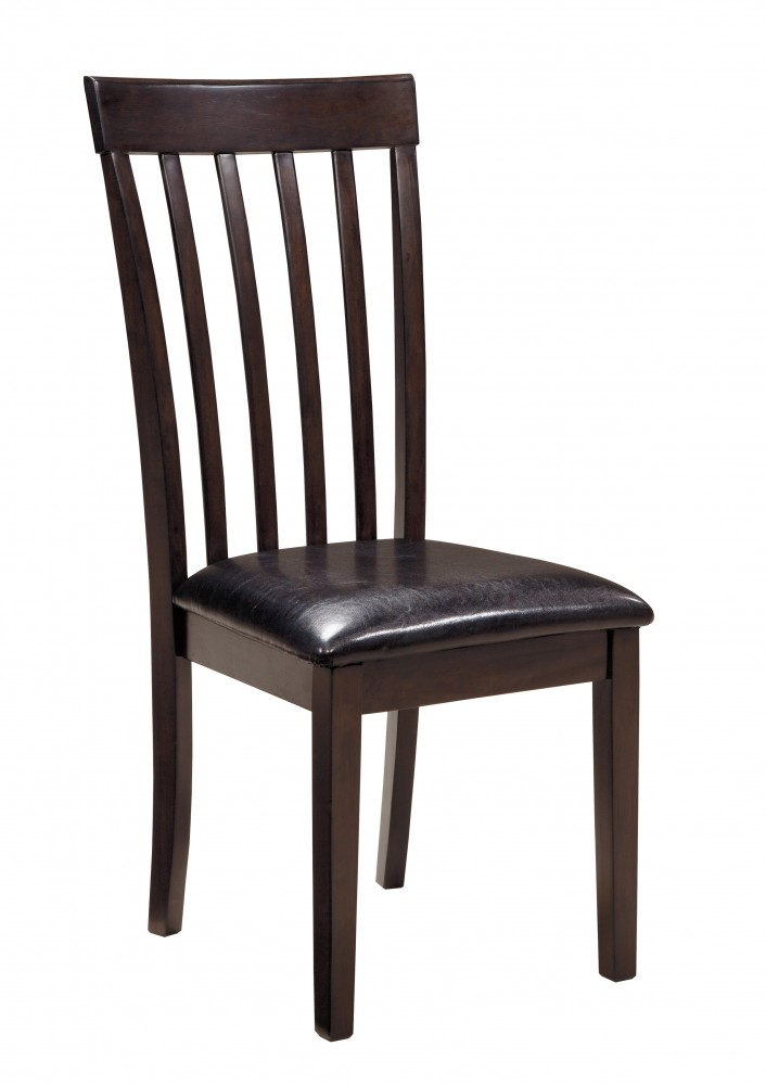 Hammis - Dark Brown - Upholstered Side Chair (2/CN)