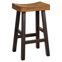 Glosco - Brown - Tall Stool (2/CN)