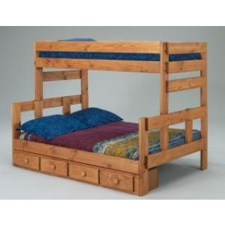 Stackable Wood Bunk Bed