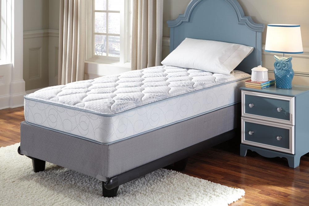 Innerspring Kids Mattress - Blue - Twin Mattress