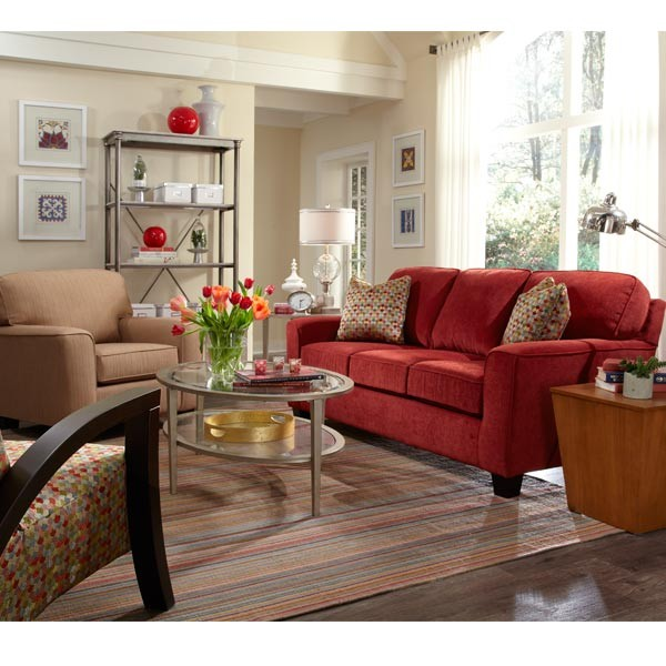 Best home furnishings annabel coll1 stationary sofa for Best home catalogs