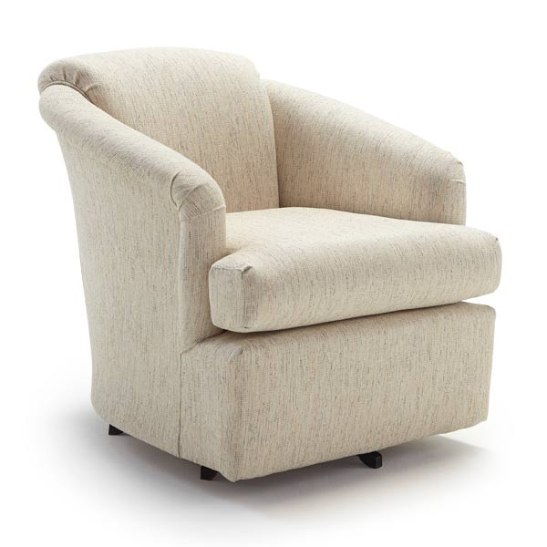 Furniture By Best: BEST HOME FURNISHINGS CASS Swivel Barrel Chair