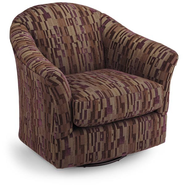 Swell Best Home Furnishings Darby Swivel Barrel Chair Darby Creativecarmelina Interior Chair Design Creativecarmelinacom