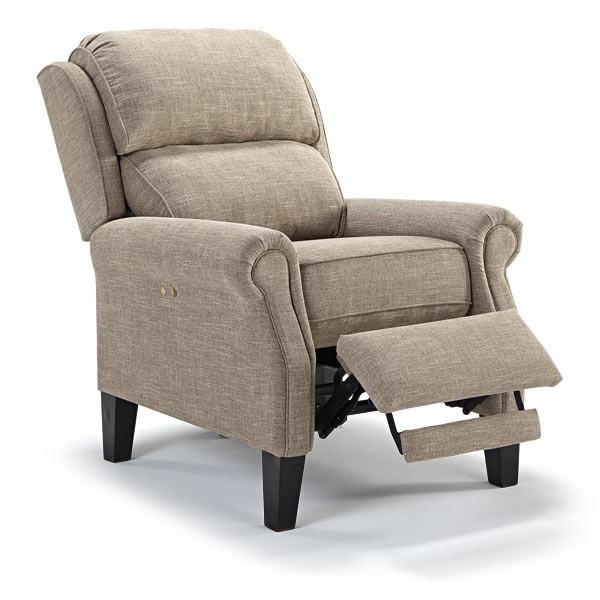 Best home furnishings joanna high leg recliner