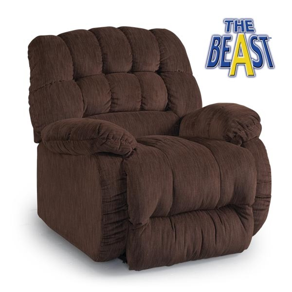 Best Home Furnishings Roscoe The Beast Recliner Roscoe
