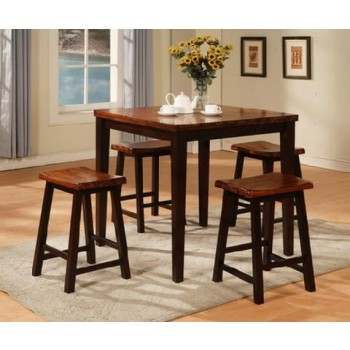 HOLLAND HOUSE FURNITURE Table and Four Barstools