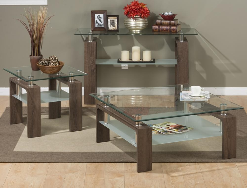 Compass Cocktail Table Rectangle Tempered Glass Top Only Tables