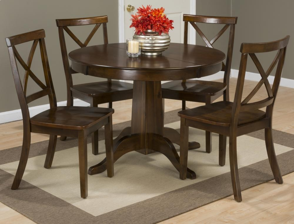 Richmond Cherry Round To Oval Dining Table Base 34260b