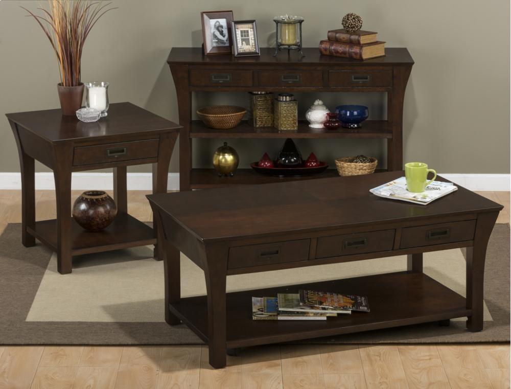 Artisan Sofa/media Table
