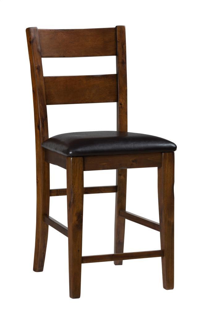 Plantation Ladderback Upholstered Bar Stool 505bs219kd Bar