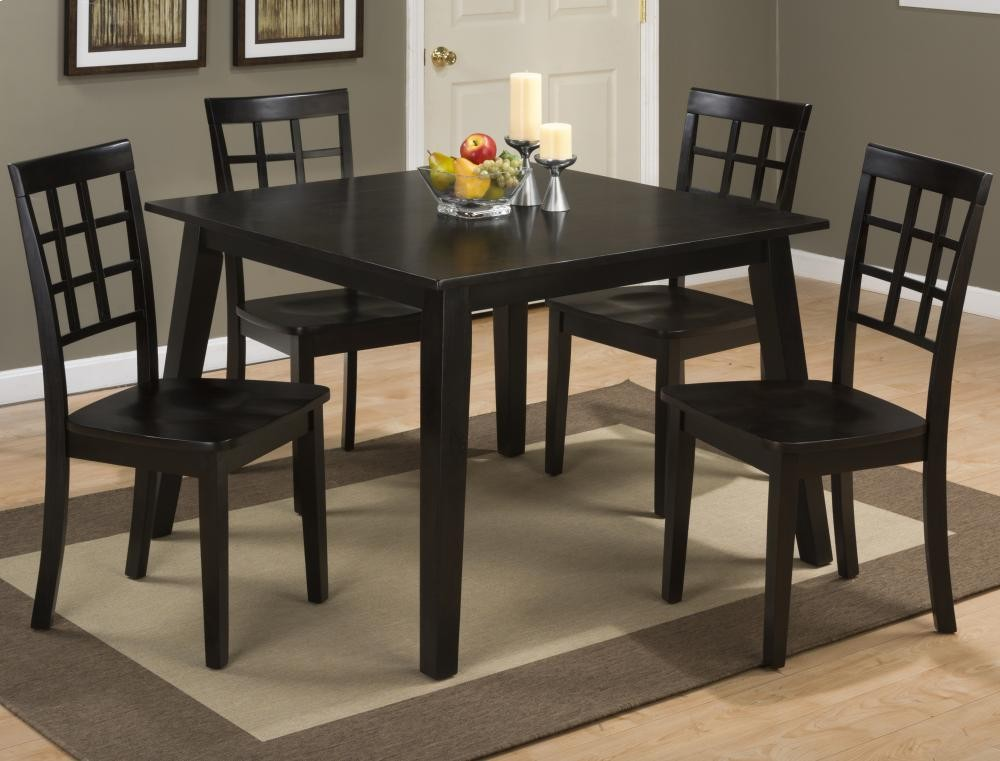 Simplicity Espresso Square Dining Table