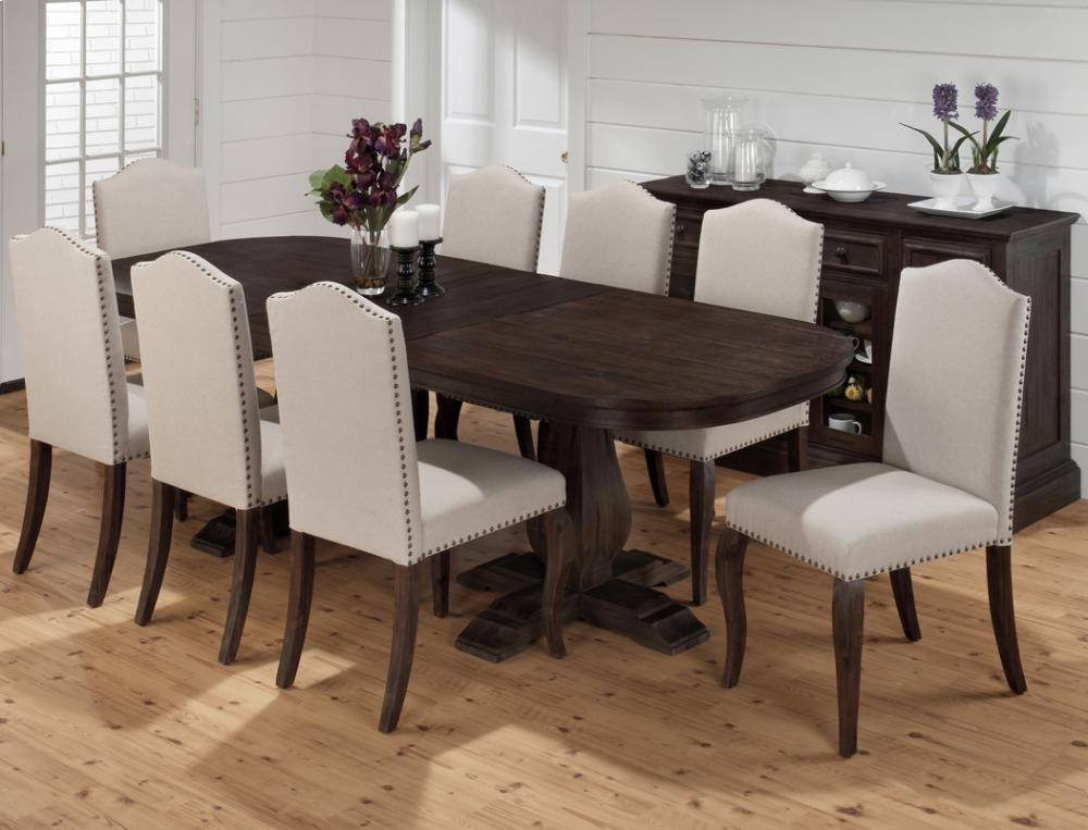 dining table base only. Grand Terrace Oval Dining Table- Double Pedestal Base Only Table