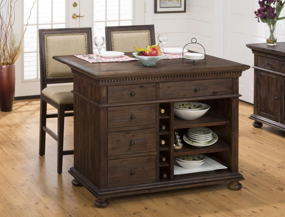 Geneva Hills Kitchen Island  67848  Tables  Plourde Furniture Company