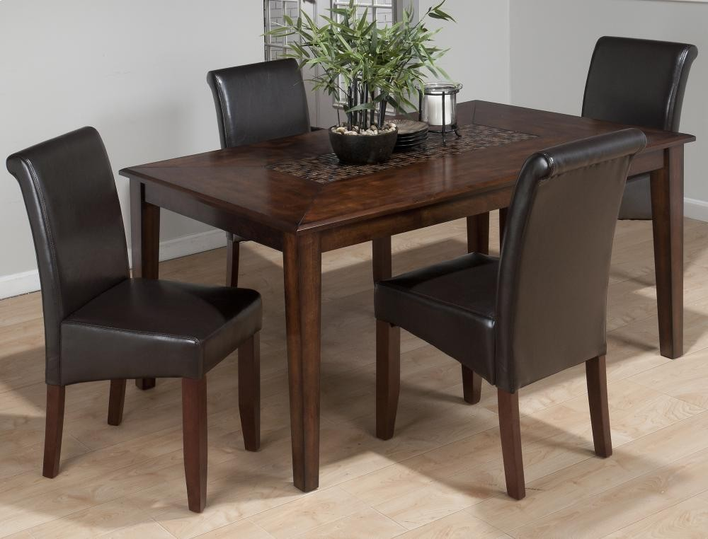 Baroque Brown Dining Table With Mosaic Tile Inlay 69764 Tables