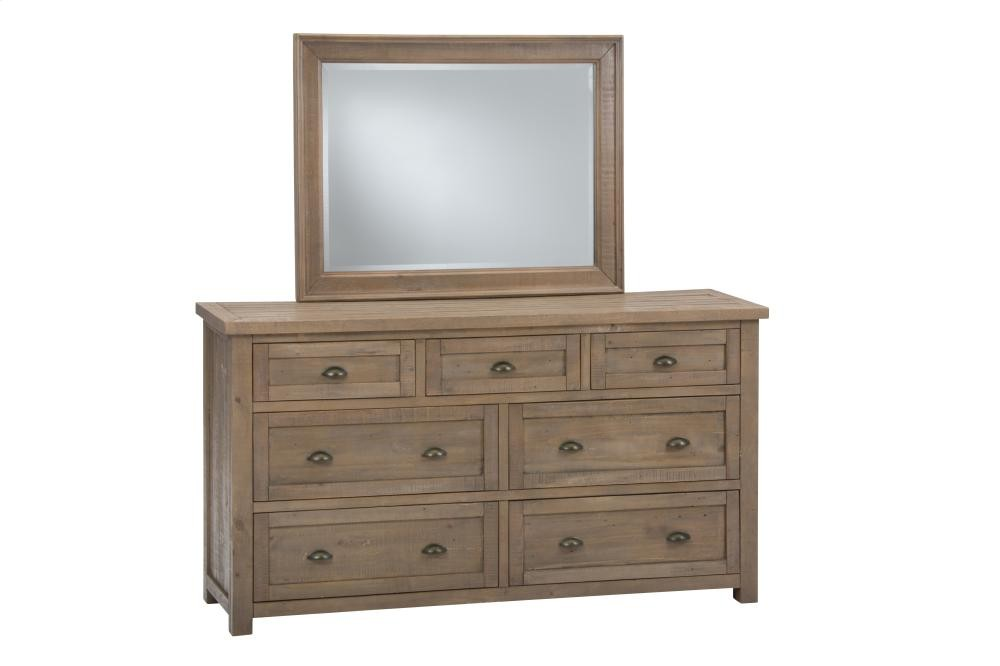 Slater mill landscape mirror vanities pruitt 39 s fine for Pruitts bedroom sets