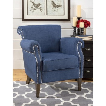 Emma Club Chair- Admiral Blue