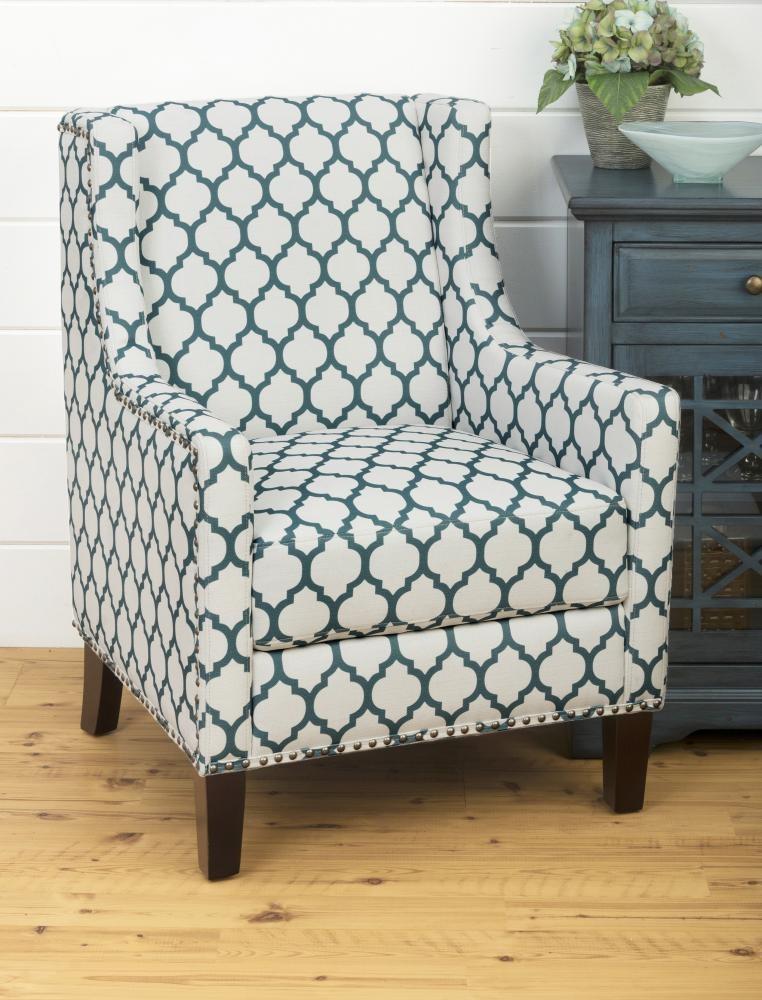 Jeanie Accent Chair- Aqua