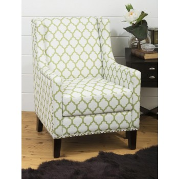 Jeanie Accent Chair- Avacado