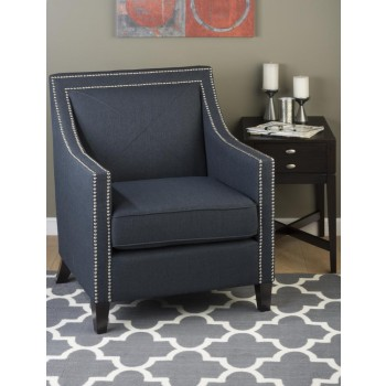 Luca Club Chair- Indigo