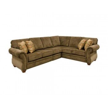 Jeremie Sectional With Nails 7230n Sect 7230nsect