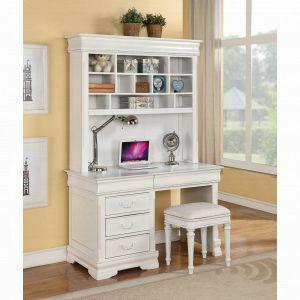 ACME Classique Computer Hutch - 30134 - White