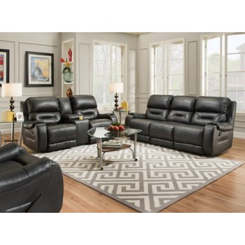 Sofa with 3 Recliners