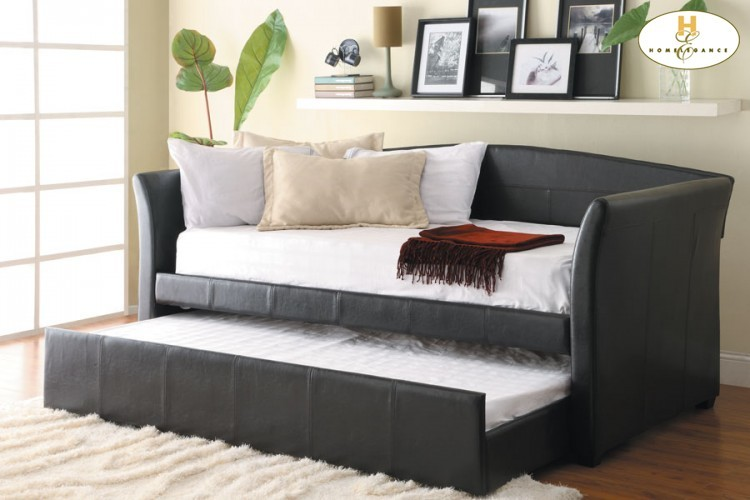 Daybed with trundle daybed: 89.5 x 43 x 40.5h trundle: 76.5 x 41 x