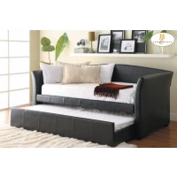 Daybed with Trundle Daybed: 89.5 x 43 x 40.5H Trundle: 76.5 x 41 x 11.75H