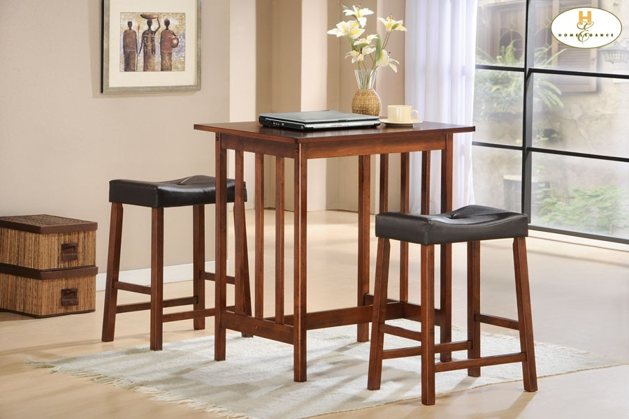 Admirable 3 Piece Pack Counter Height Set Cherry Table 32 X 24 X 34H Stool 19 X 13 X 24H Alphanode Cool Chair Designs And Ideas Alphanodeonline