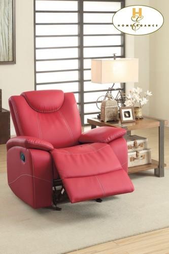 Glider Reclining Chair 39 x 36.5 x 40.5 - 46.5H | 8524RD1 ...