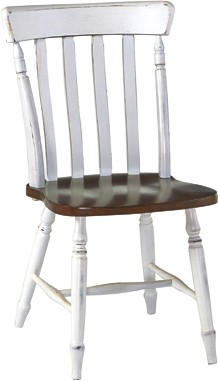 JOHN THOMAS FURNITURE Cottage Chair Espresso U0026 Alabaster