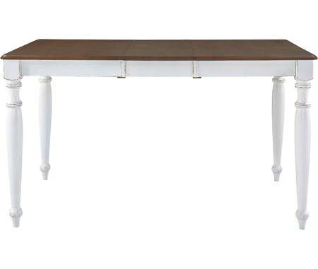 JOHN THOMAS FURNITURE Extension Gathering Table Espresso U0026 Alabaster