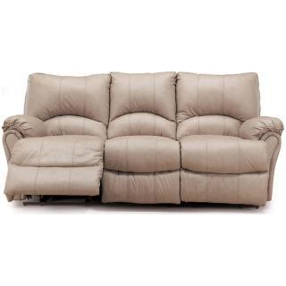 Alpine Double Reclining Leather Sofa