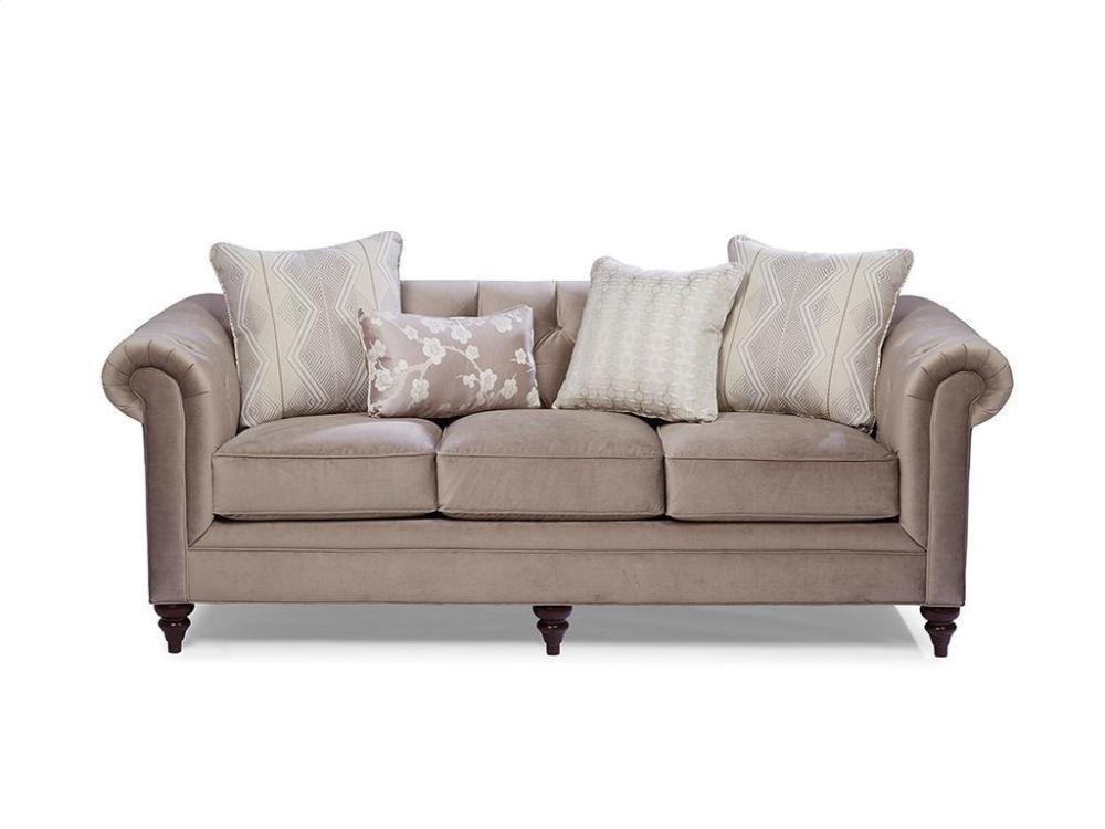 CRAFTMASTER FURNITURE Craftmaster Living Room Stationary Sofas, Three Cushion Sofas