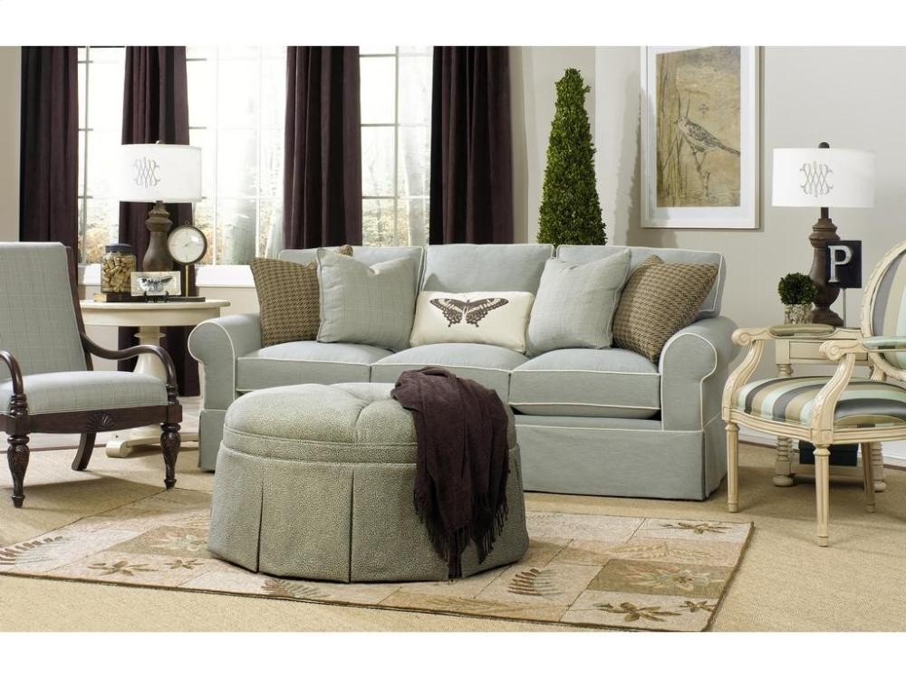 CRAFTMASTER FURNITURE Paula Deen By Craftmaster Living Room Stationary  Sofas, Three Cushion Sofas