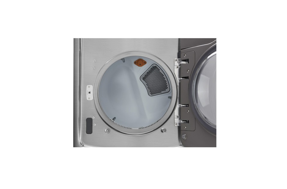 LG 7.4 cu.ft. Ultra Large Capacity TurboSteam(R) Electric Dryer w/ On-Door Control Panel