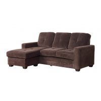 Limited Time Special, Sectional Sofa / Reversable Chaise $399 (*Chocolate: Microfiber)