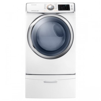 SAMSUNG DV5400 7.5 cu. ft. Electric Dryer (White)