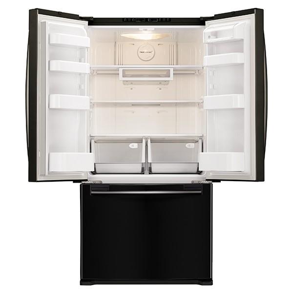 Capacity Counter Depth French Door Refrigerator (Black). SAMSUNG 33