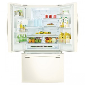 Samsung 36 Wide 31 Cu Ft French Door Refrigerator With Dual Ice