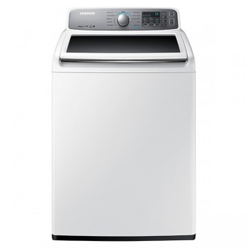 SAMSUNG WA7400 4.8 cu. ft. Top Load Washer with AquaJet (R) (White)