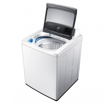 SAMSUNG WA9000 5.6 cu. ft. Top Load Washer with EZ Reach (White)