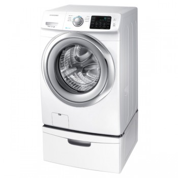 SAMSUNG WF5200 4.2 cu. ft. Front Load Washer (White)