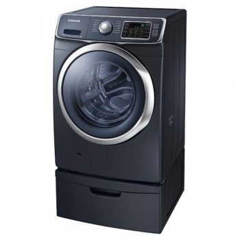 SAMSUNG WF6300 4.5 cu. ft. Front Load Washer with SuperSpeed (Onyx)
